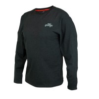 Блуза Fox Rage Black Marl Tee Long Sleeve