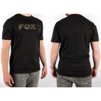 Fox Black Camo Print T-Shirt
