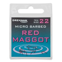 Куки Drennan Red Maggot
