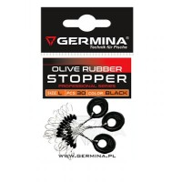 Стопери за риболов Germina Olive Rubber Stopper