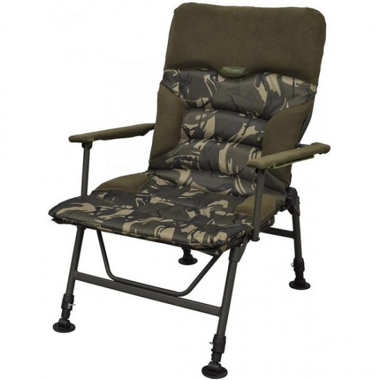 Стол за риболов с подлакътници Starbaits Cam Recliner Chair