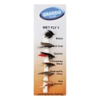 Мокри мухи за риболов Wet Fly 1