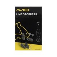 Тежести за шаранджийски монтажи Avid Carp Outline Line Droppers