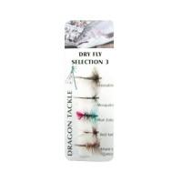 Комплект изкуствени мухи Dry Fly 3