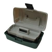 Рибарски Куфар 1 тарелка зелено овал BOX-M1A