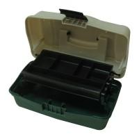 Куфарче 1 ниво зелено овал BOX-M1P