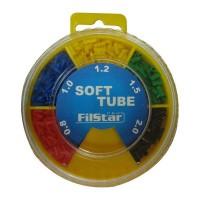 Кутия цветен силиконов шлаух