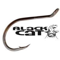 Black Cat Power Rig Hook Black Nickel