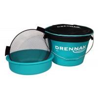 Рибарска кофа + легенче и сито Drennan 25L Bucket System