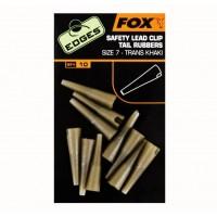 Edges Fox Slik Lead Clip Tail Rubbers