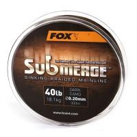 Потъващо Влакно Fox Submerge Braid Dark Camo