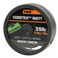 Плетено влакно за монтажи Fox Matt Coretex Weedy Green
