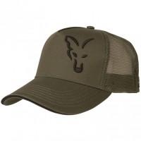 Лятна шапка FOX Green & Black Trucker