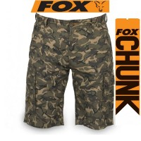 Fox Chunk L/W Cargo Shorts Camo - Къси панталони