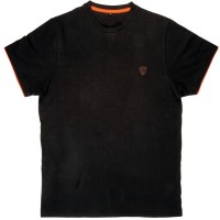 Тениска Black Orange Brushed Cotton T