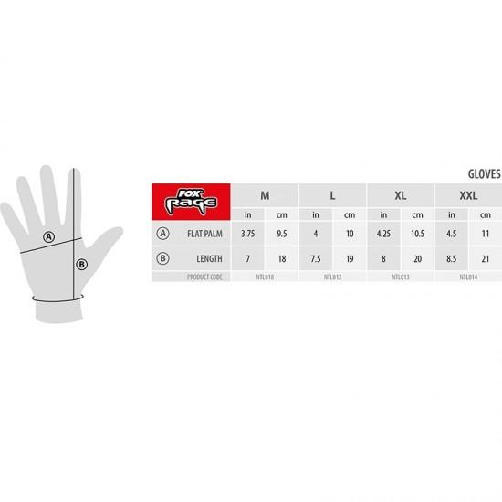 Fox Rage Power Grip Gloves Ръкавици