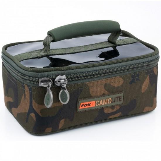 Рибарска чанта Fox Camolite Rigid lead and bits bag