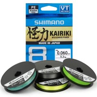 Shimano Kairiki 8 - Плетено влакно
